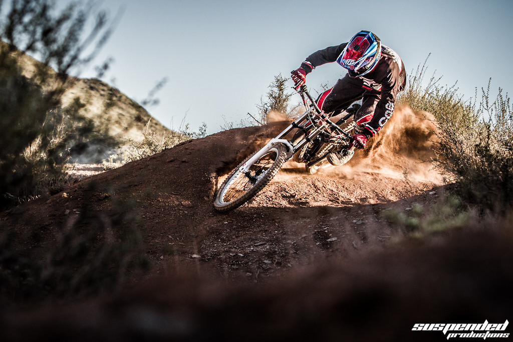 Dante Harmony shredding Virgin Utah - suspended-productions - Mountain Biking Pictures - Vital MTB