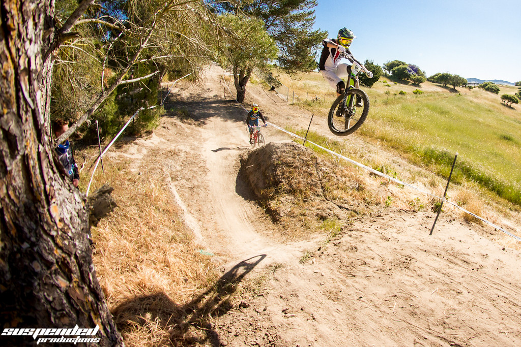 Lars Sternberg Getting Sideways at Sea Otter Classic 2013 - suspended-productions - Mountain Biking Pictures - Vital MTB