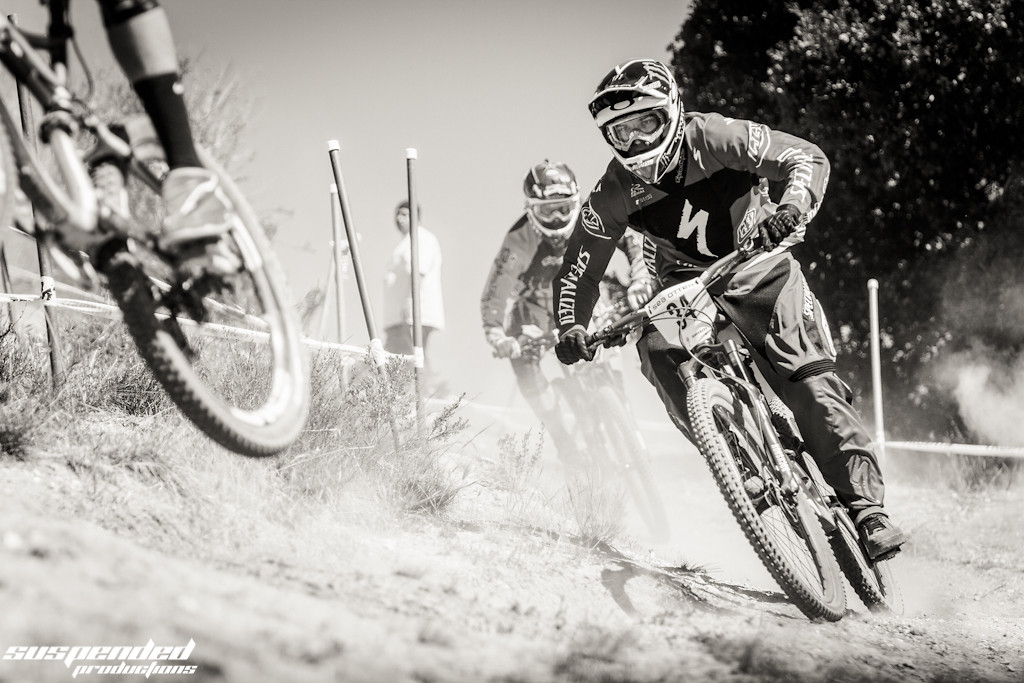 Mitch Ropelato, Taking the Off Camber Turn like a Champ - suspended-productions - Mountain Biking Pictures - Vital MTB