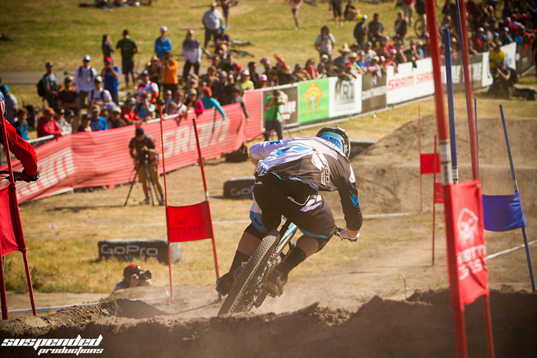 Graves Pushing for the Win in Dual Slalom at Sea Otter - suspended-productions - Mountain Biking Pictures - Vital MTB