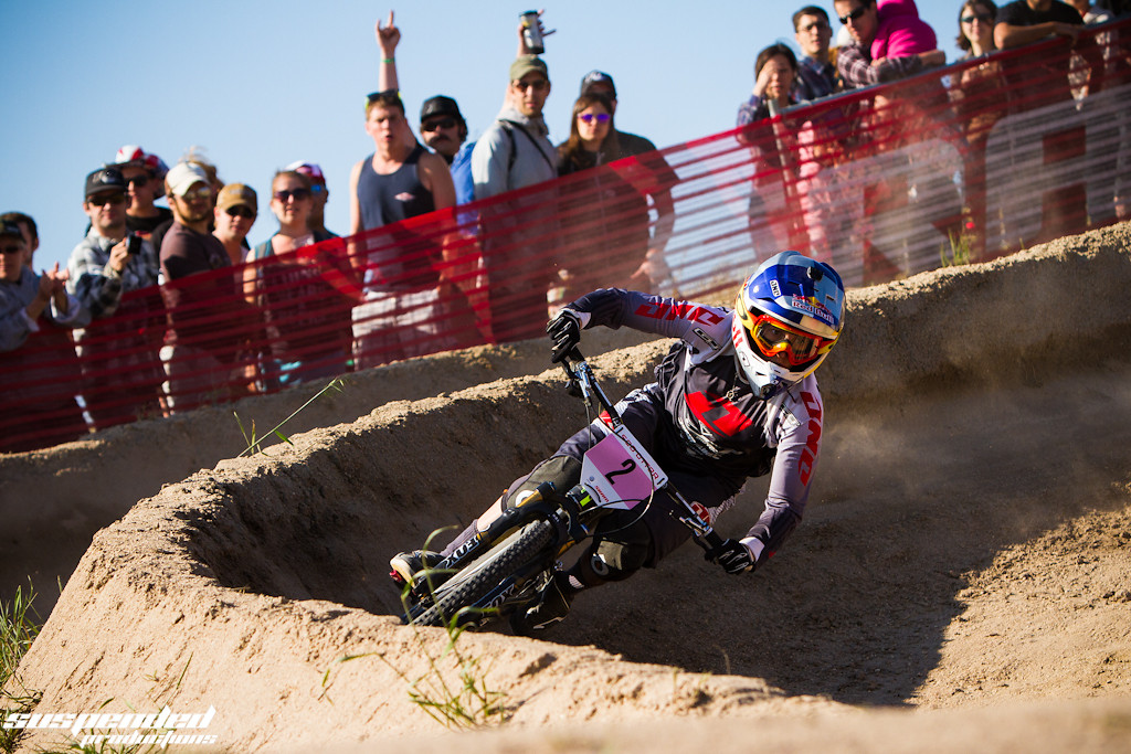 Rachel Atherton, 2nd Place at 2013 Sea Otter Dual Slalom - suspended-productions - Mountain Biking Pictures - Vital MTB