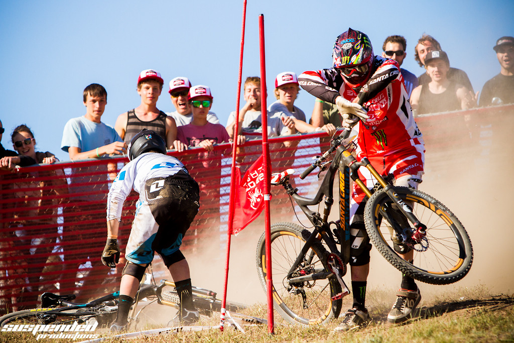 Steve Peat and Cam Cole Go Down - suspended-productions - Mountain Biking Pictures - Vital MTB