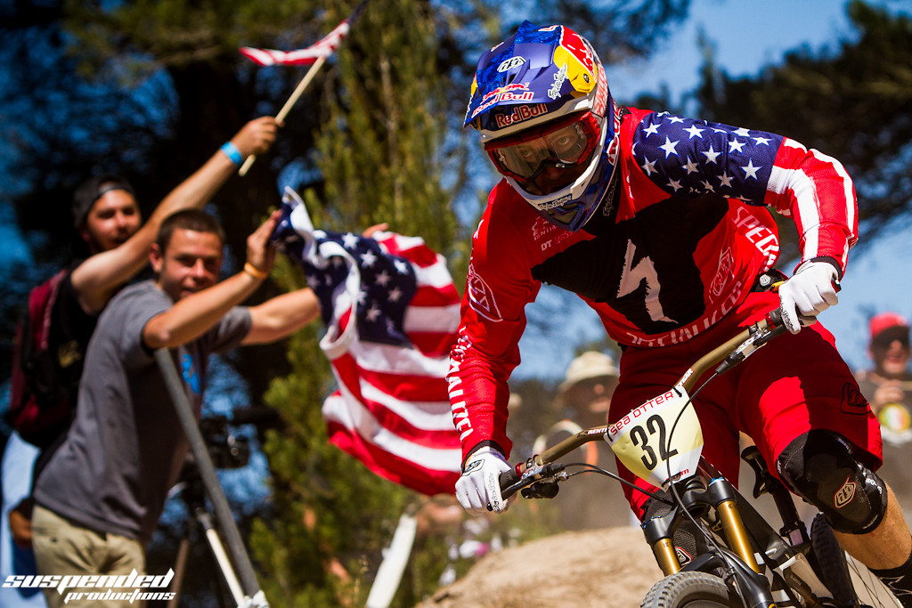 2013 Sea Otter Classic Downhill Champ, Aaron Gwin - suspended-productions - Mountain Biking Pictures - Vital MTB