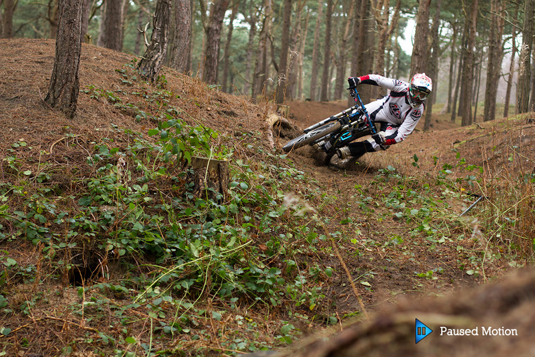 Dave Ripping the sandy berm  - Cagphoto - Mountain Biking Pictures - Vital MTB