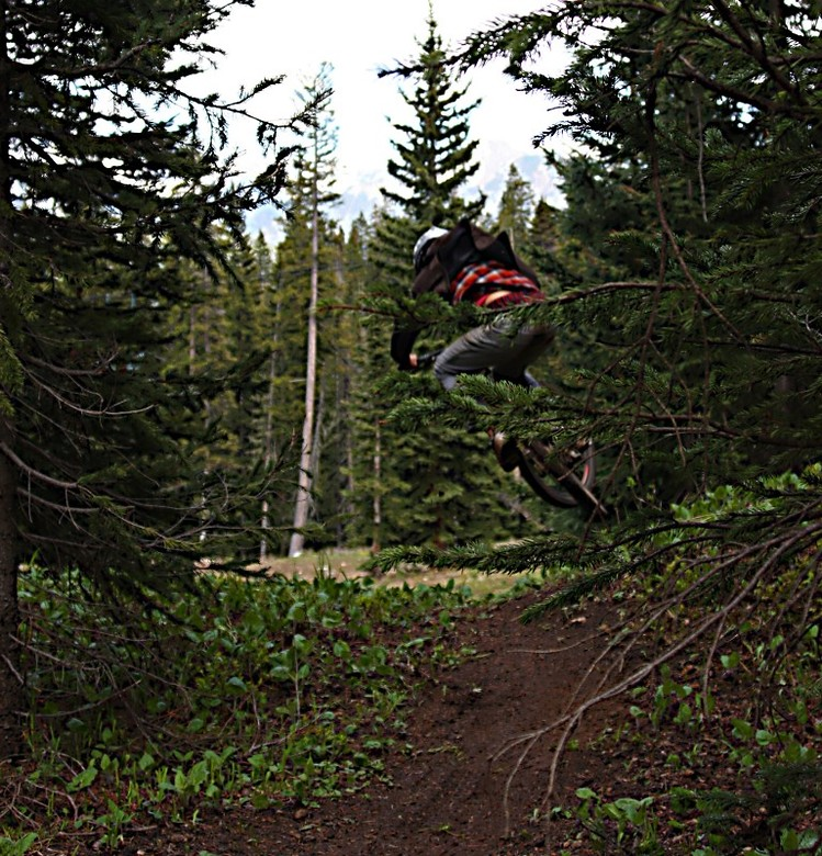 Tanner B. Table on pirate trail - Tanner - Mountain Biking Pictures - Vital MTB