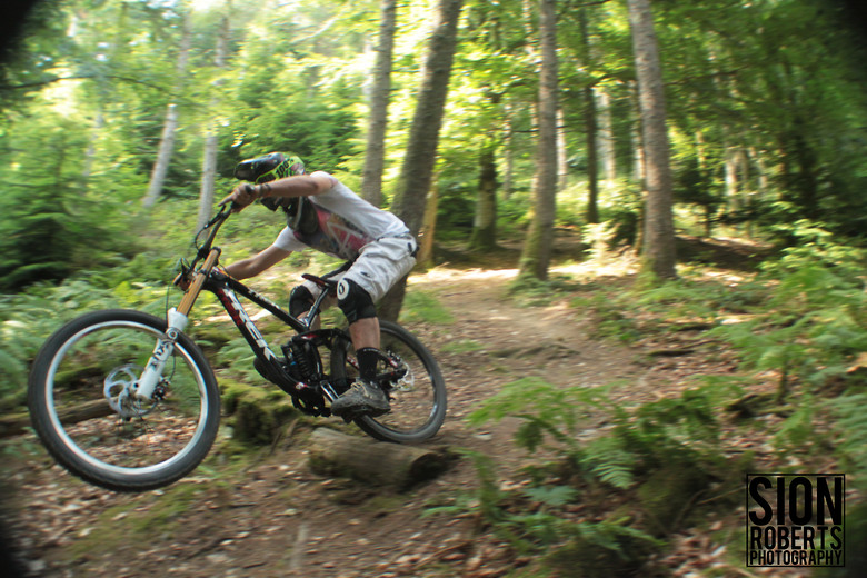 Pinned Through Berm  - sionr644 - Mountain Biking Pictures - Vital MTB
