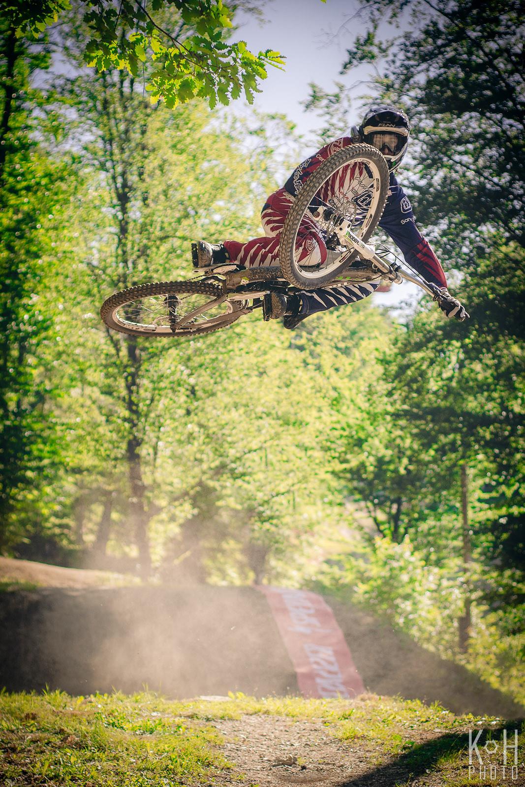 Kristjan Vreček whipping - KlemenHumar - Mountain Biking Pictures - Vital MTB