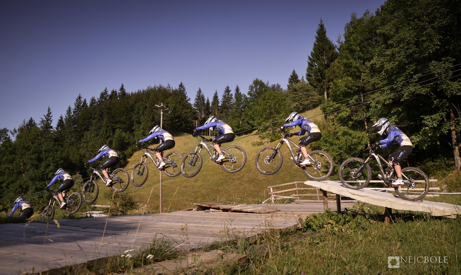Tanja Zakelj training for WC XCO - kamplc - Mountain Biking Pictures - Vital MTB