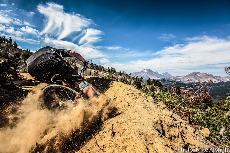 Rob Dunnet helps break in Mt. Bachelor. - bikesales - Mountain Biking Pictures - Vital MTB