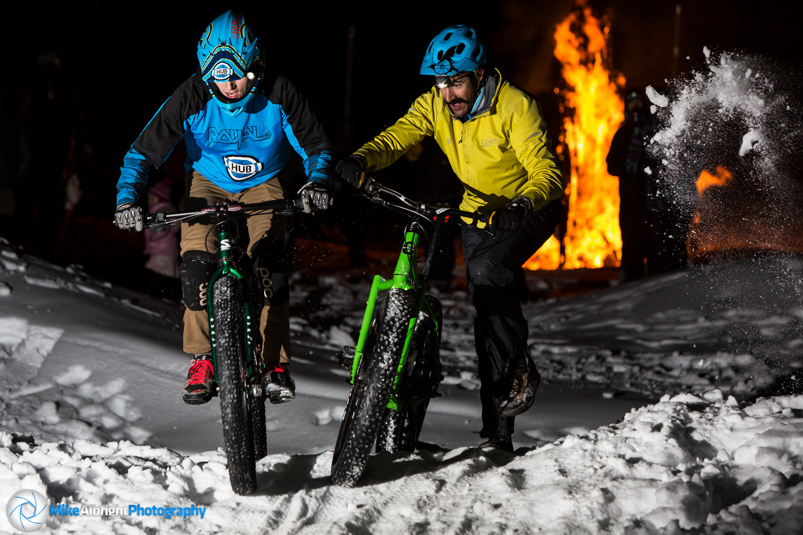 2014 'Ice Crit' - Alex Grediagin and David Marchi - bikesales - Mountain Biking Pictures - Vital MTB
