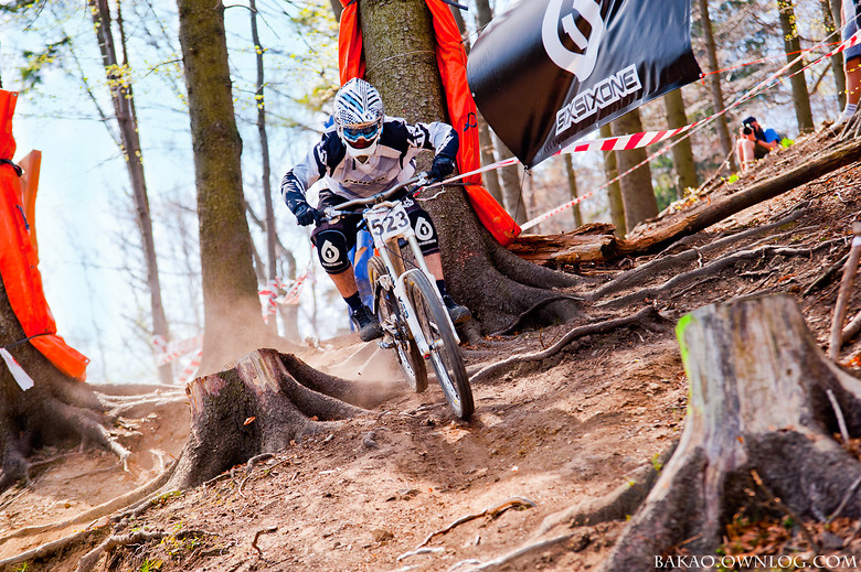 Adrian Harat @ Polish DH Contest  - adrian.harat - Mountain Biking Pictures - Vital MTB