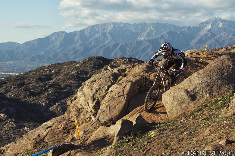 Jason Schroeder over Fontana - danseverson photo - Mountain Biking Pictures - Vital MTB