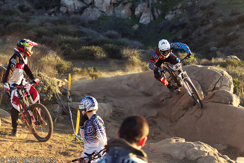 Logan Binggeli, Winner of Fontana Round 1, 2013 - danseverson photo - Mountain Biking Pictures - Vital MTB