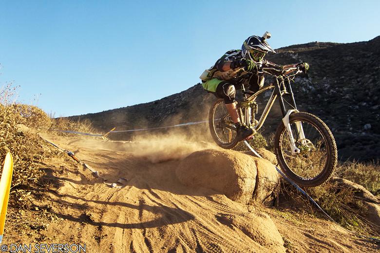 David Seaquist DH Practice at Fontana - danseverson photo - Mountain Biking Pictures - Vital MTB