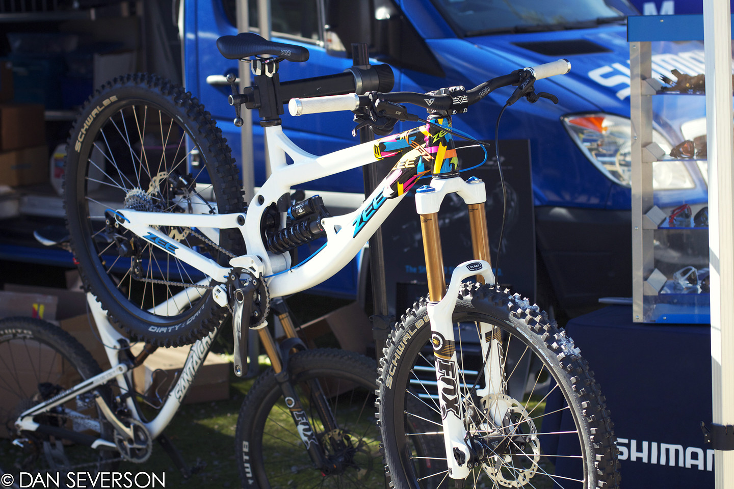 Shimano's Zee Display Bike! - danseverson photo - Mountain Biking Pictures - Vital MTB