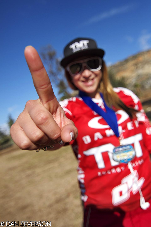 Luana Oliveira Womens Pro Winner - danseverson photo - Mountain Biking Pictures - Vital MTB