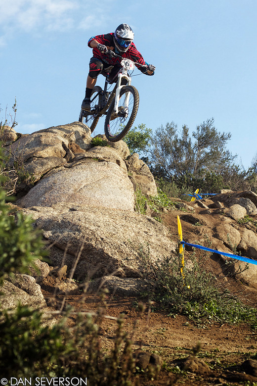 Race Report: Shimano Winter Series 3, Kevin Aiello Wins Pro DH - danseverson photo - Mountain Biking Pictures - Vital MTB