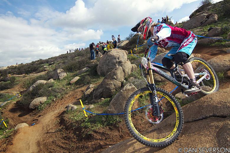 Gabriela Williams Pro Women's Winner - danseverson photo - Mountain Biking Pictures - Vital MTB