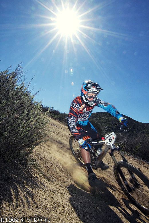Logan Binggeli Fontana, 2nd Place at Fontana #4 - danseverson photo - Mountain Biking Pictures - Vital MTB