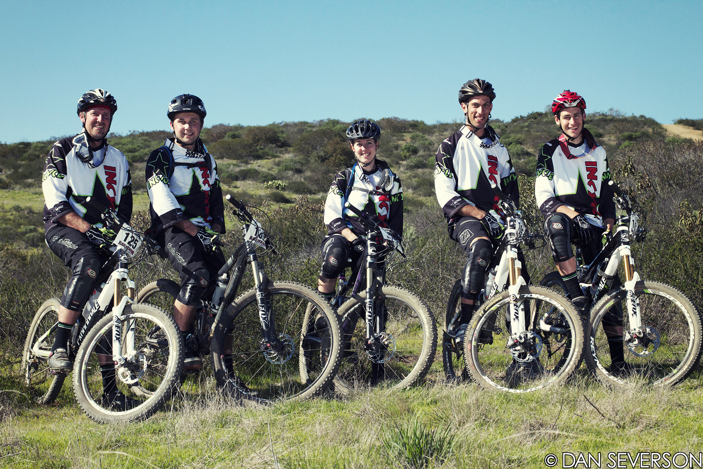 Team Shot from The Black Mountain Enduro - danseverson photo - Mountain Biking Pictures - Vital MTB