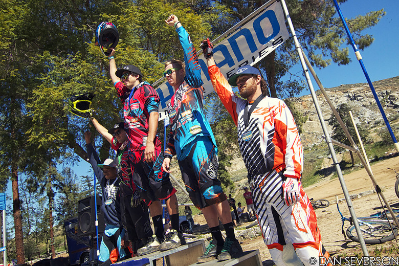 Pro Men's Podium, Shimano Winter Series #5 - danseverson photo - Mountain Biking Pictures - Vital MTB