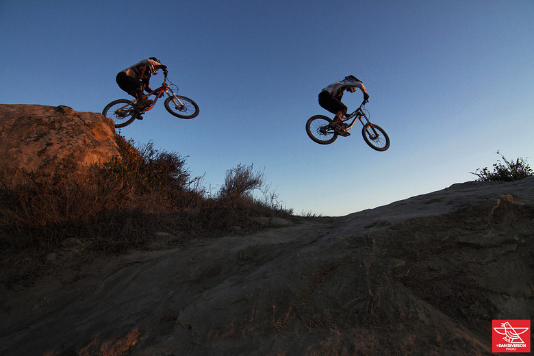 Cody Toms & Lukas Katsandris - danseverson photo - Mountain Biking Pictures - Vital MTB