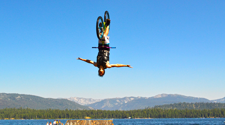 Backflip Tuck No Hander - spencer.wolfe38 - Mountain Biking Pictures - Vital MTB