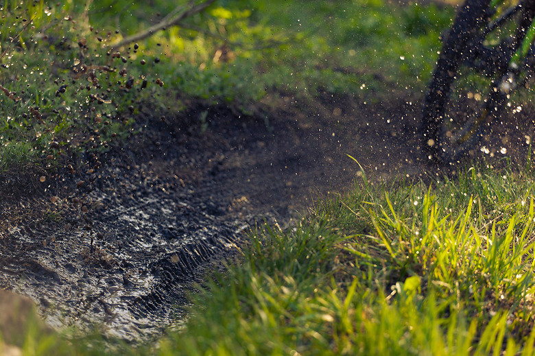 Playing in the mud  - dfinn - Mountain Biking Pictures - Vital MTB