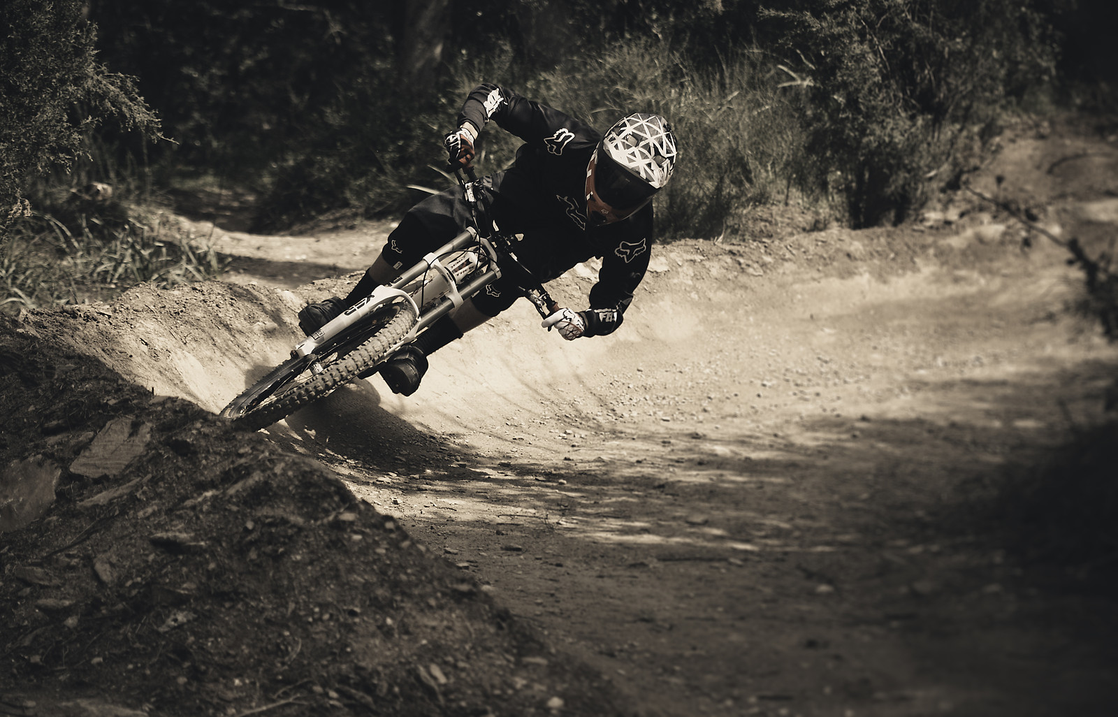 Stamatis on the Burm - pappoulakos - Mountain Biking Pictures - Vital MTB