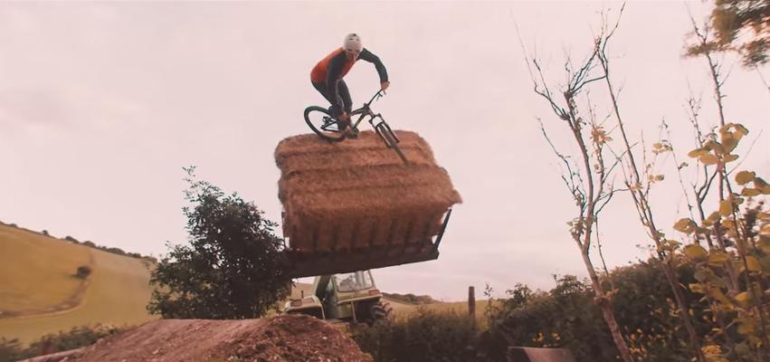 Drag Racing Helmets >> Hay Bale'n and Jump Slayin': Blake Samson - The Farm Project - FredLikesTrikes - Mountain Biking ...