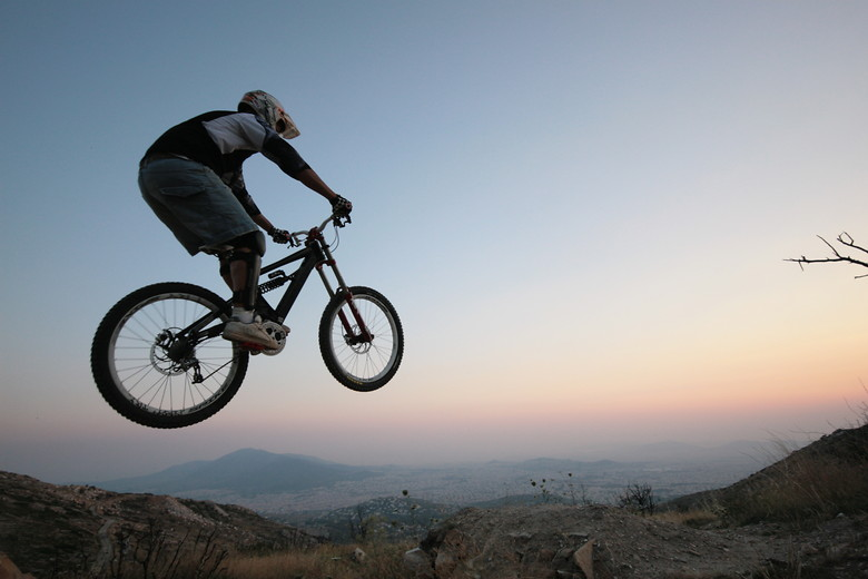 over Athens.... - Yohan.panou - Mountain Biking Pictures - Vital MTB