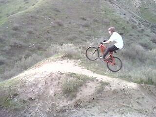 me hitting the fat jump - joker405 - Mountain Biking Pictures - Vital MTB