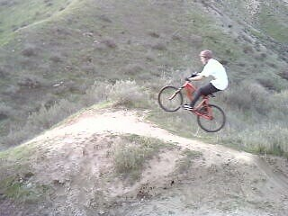 me hitting the fat jump - joker405 - Mountain Biking Pictures - Vital MTB