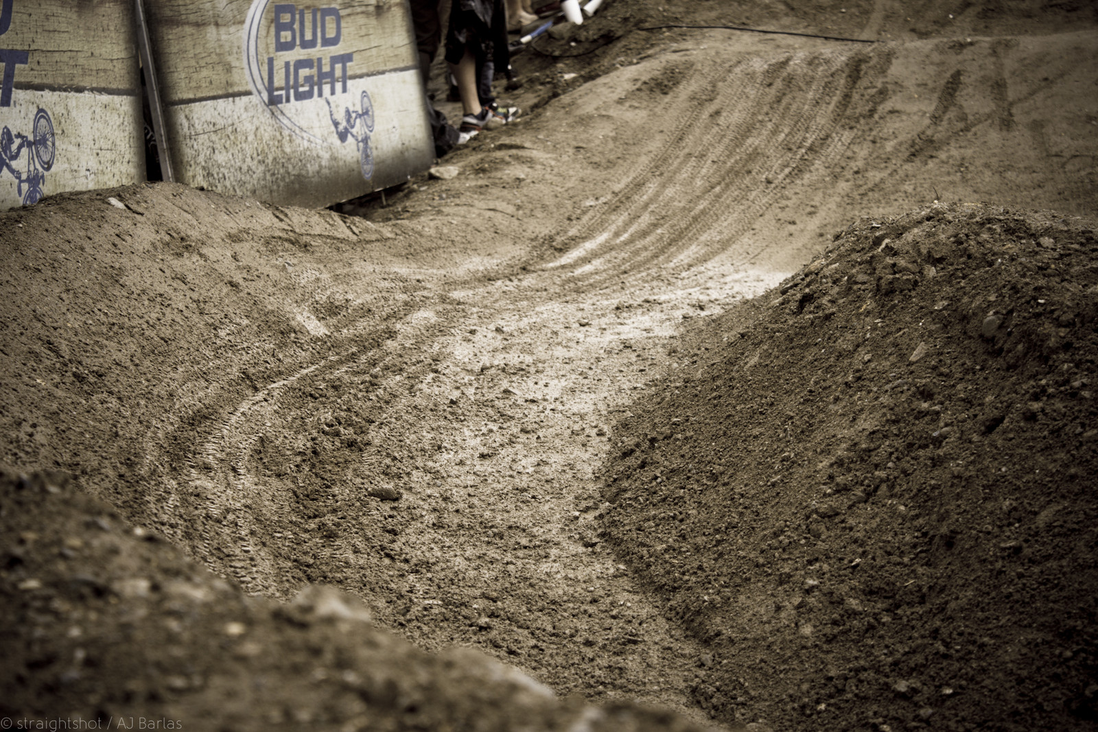 Ruts Forming for Finals - Crankworx Slalom 2013 - Mountain Biking Pictures - Vital MTB