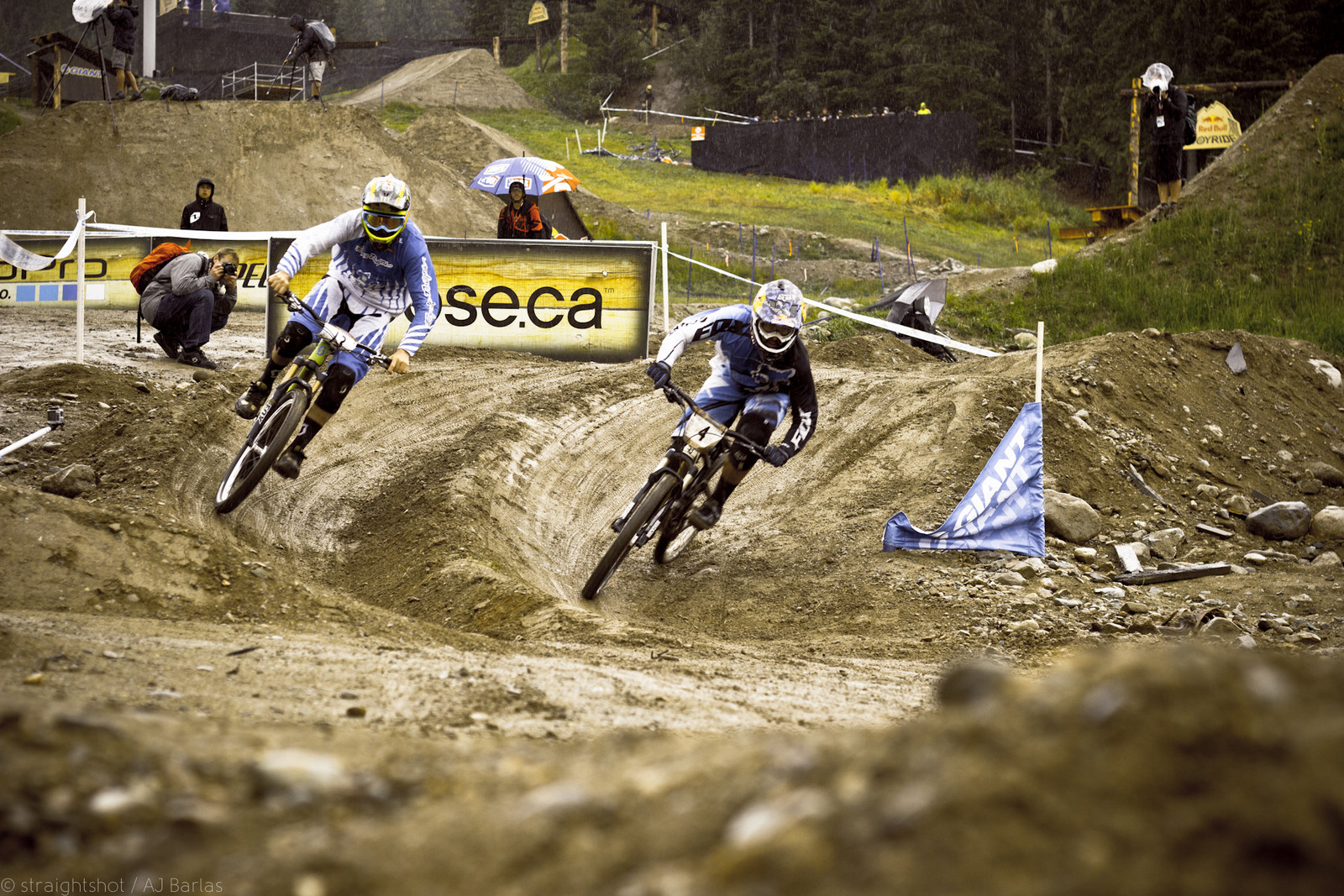 Brendon Fairclough was Knocked out to Early - Crankworx Slalom 2013 - Mountain Biking Pictures - Vital MTB