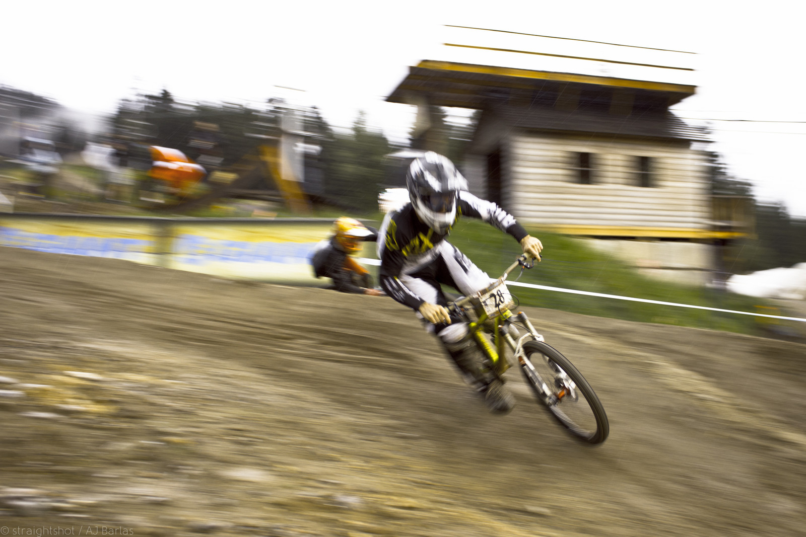 Remi Thirion Was Pinned in Early Rounds - Crankworx Slalom 2013 - Mountain Biking Pictures - Vital MTB