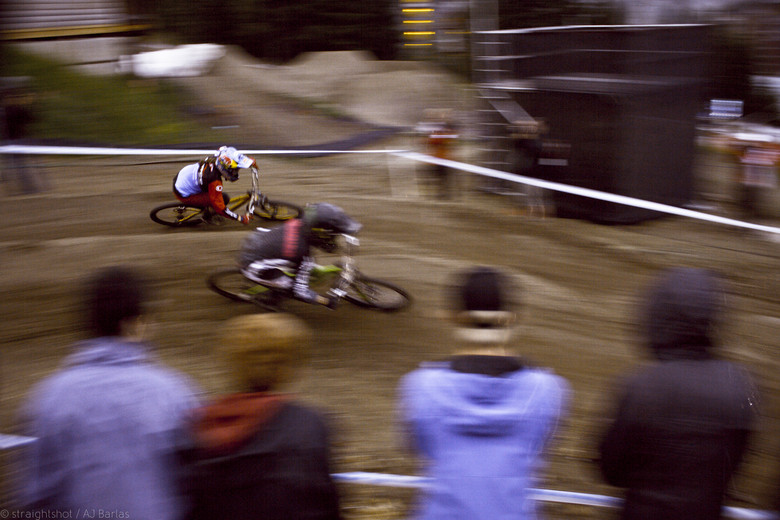 Kintner Focused on Finals, Beating out Anneke Beerton - Crankworx Slalom 2013 - Mountain Biking Pictures - Vital MTB