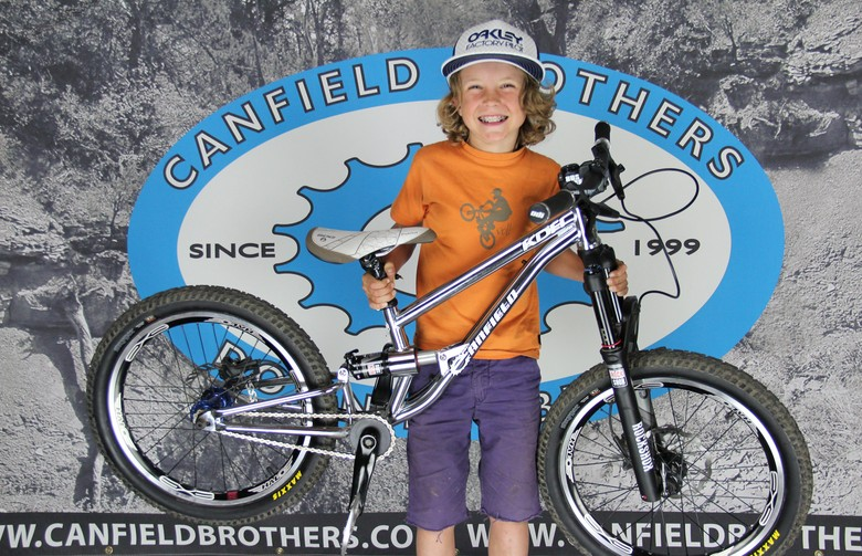 Jackson Goldstone and our Canfield Brothers KDH prototype!