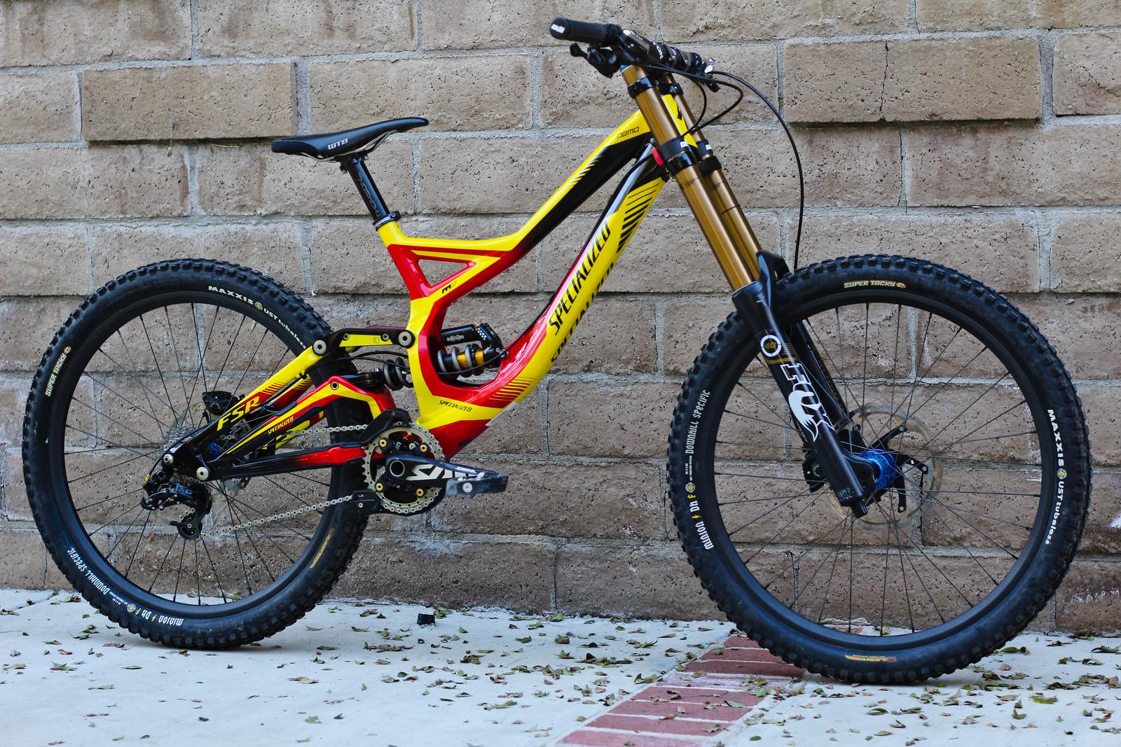 Specialized Demo 8 Bajaguy S Bike Check Vital Mtb