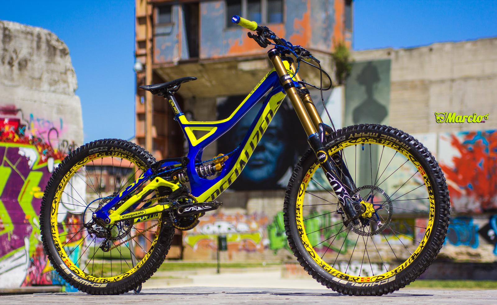 Specialized Demo 8 2k14 Indigo Fluoryellow Marci0 S Bike