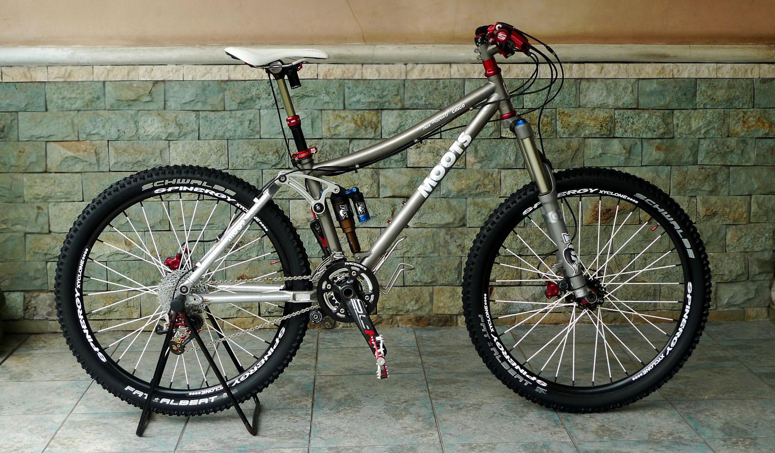 my Wife bikes