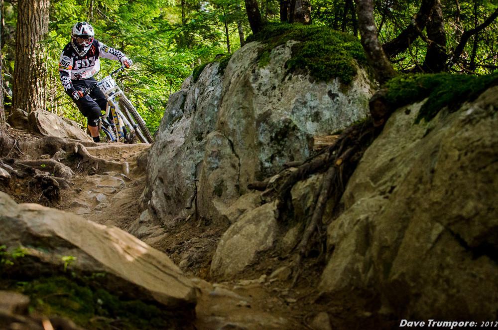Whistler Crankworx Garbanzo DH - Garbanzo DH from Crankworx - Mountain Biking Pictures - Vital MTB