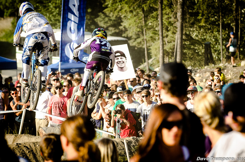 Austin Warren at Whister Crankworx Slalom - Whistler Crankworx Slalom - Mountain Biking Pictures - Vital MTB