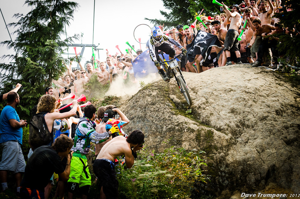 Steve Smith Wins the Whistler Crankworx Canadian Open DH - Whistler Crankworx Canadian Open DH - Mountain Biking Pictures - Vital MTB