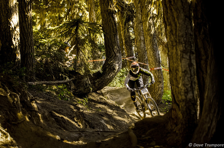 Claire Buchar at Crankworx Garbanzo DH - Crankworx Whistler Garbanzo DH - Mountain Biking Pictures - Vital MTB