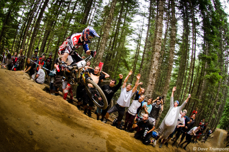 Brook MacDonald at Crankworx Air DH - Crankworx Whistler Air DH - Mountain Biking Pictures - Vital MTB
