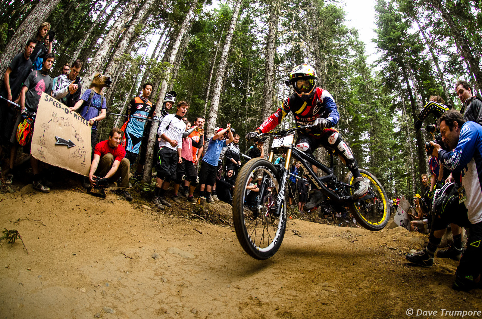 Mick Hannah Takes 2nd at Crankworx Air DH - Crankworx Whistler Air DH - Mountain Biking Pictures - Vital MTB