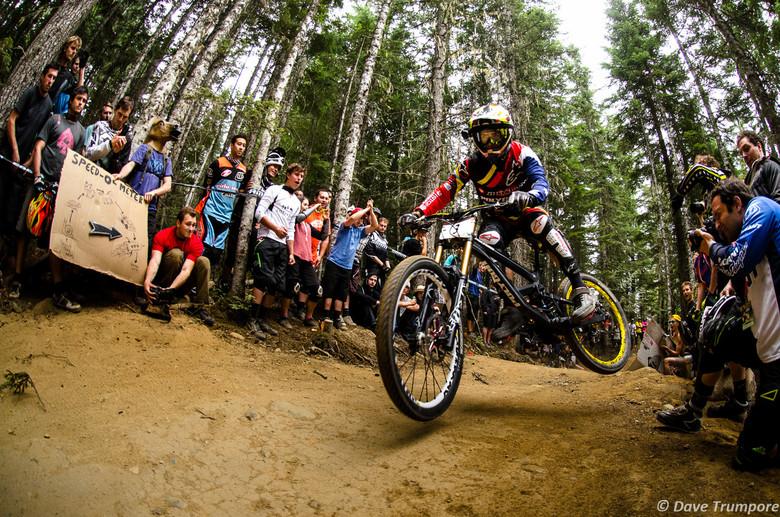 Mick Hannah Takes 2nd at Crankworx Air DH - Crankworx Whistler Air DH - Mountain Biking Pictures - Vital MTB