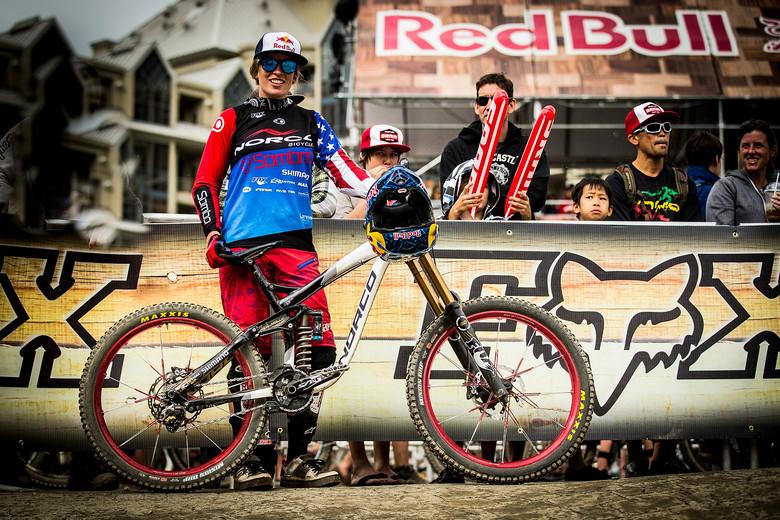 Jill Kintner's Winning Ride from Crankworx Air DH - Crankworx Whistler Air DH - Mountain Biking Pictures - Vital MTB