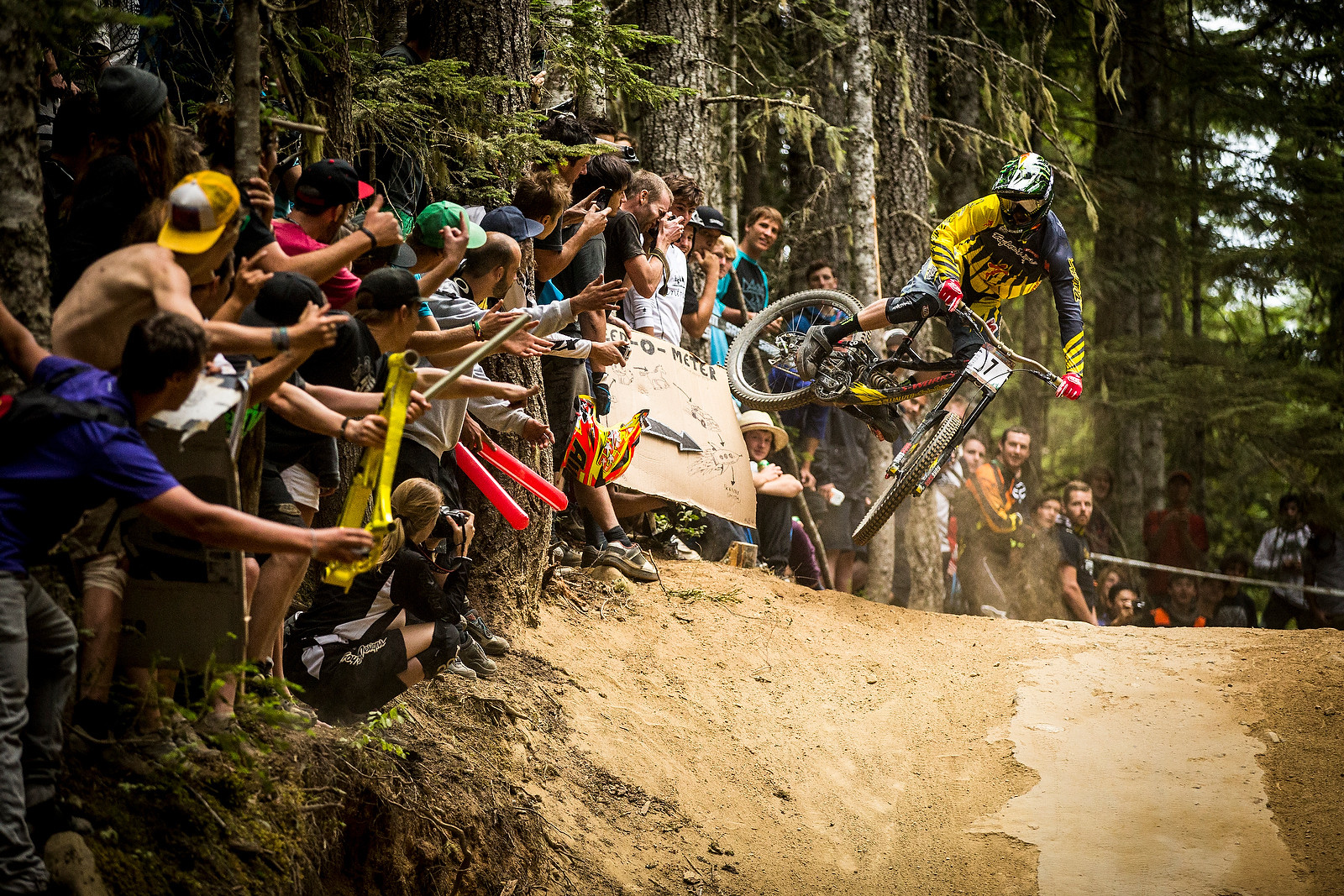 Troy Brosnan Pushes Back the Crown at Crankworx Air DH - Crankworx Whistler Air DH - Mountain Biking Pictures - Vital MTB
